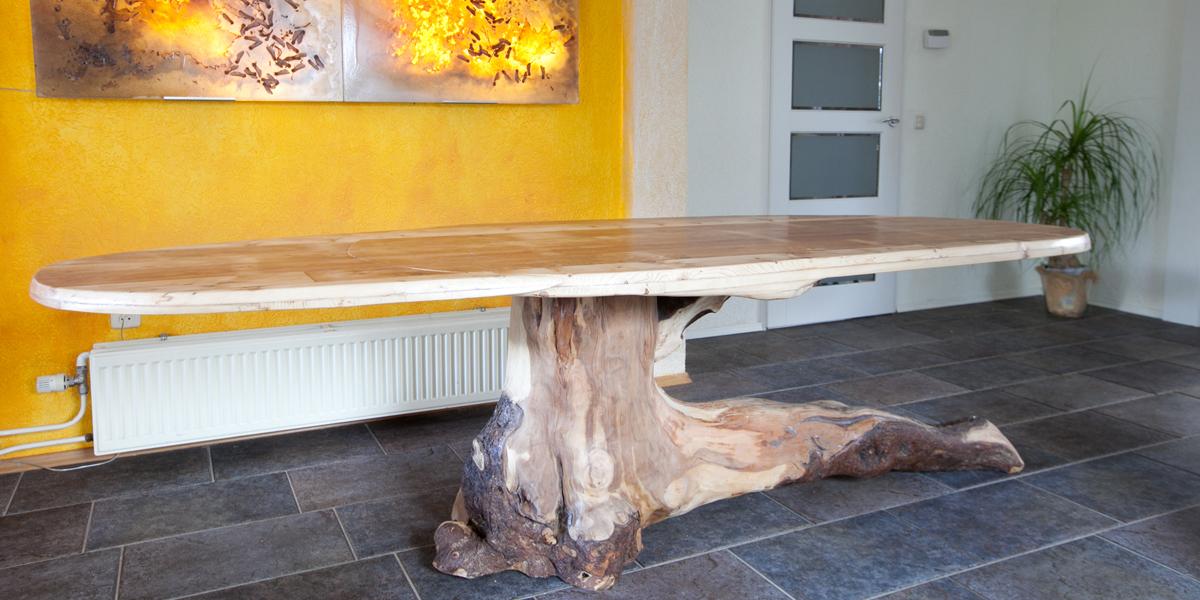 Tafel Van Boomstronk.Tafel Van Boomstronk Boomstam Horeca Restaurant Kamer