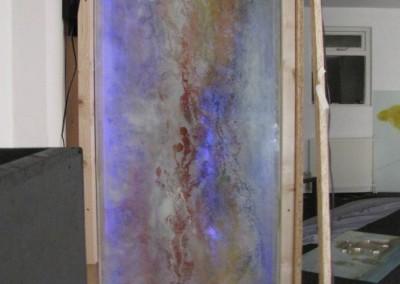 10 proces glazendeur met schildering en licht Connecting-Art Willy Koenen IMG_1054